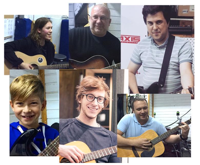 Уроки игры на гитаре в Москве